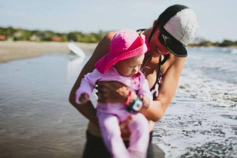 beach baby mama 1