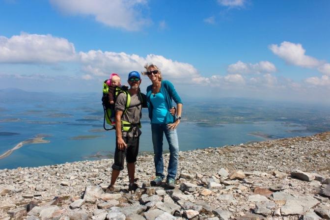 Luna's First Summit – Crough Patrick