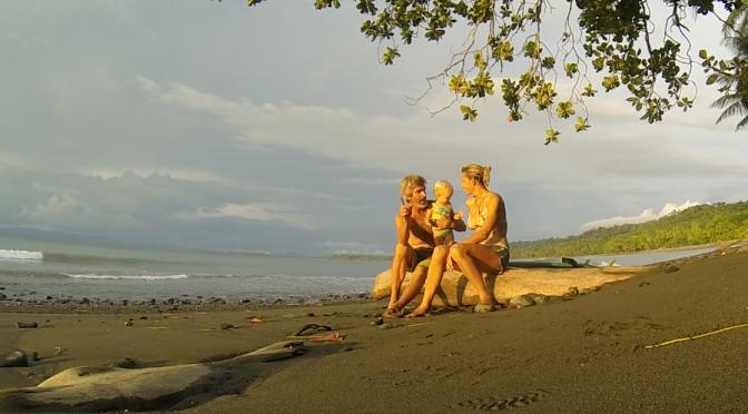 Beach Play in Costa Rica