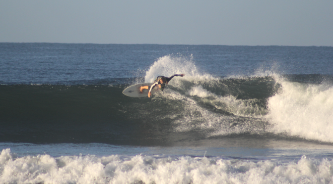 Holly Surfing In North Nicaragua Feb 2018