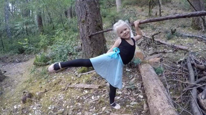 Ballet in the Forest